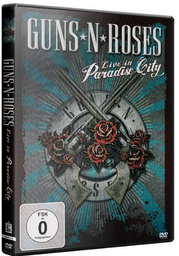 Guns 'N' Roses - Live in Paradise City (2012) DVDRip