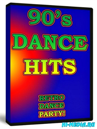 Dance Hits 90`s - Retro Dance Party Vol.1-4 (2011) DVDRip