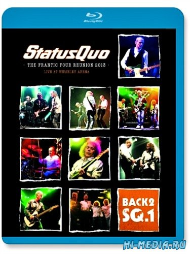 Status Quo: Back2SQ1 - The Frantic Four Reunion (2013) BDRip 720p