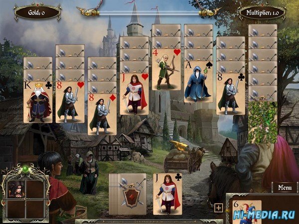 Legends of Solitaire: Curse of the Dragons (2013) ENG