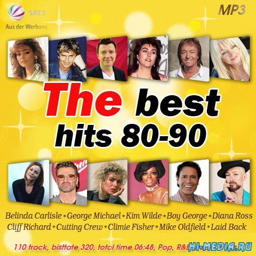 The Best Hits 80-90 (2014)