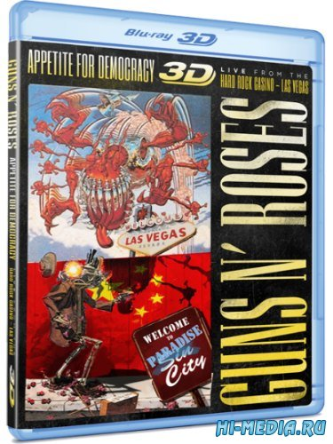 Guns N' Roses: Appetite for Democracy Live (2012) BDRip 1080p
