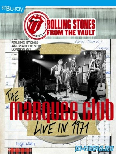 The Rolling Stones - From the Vault: The Marquee - Live in 1971 (2015) BDRip 720p