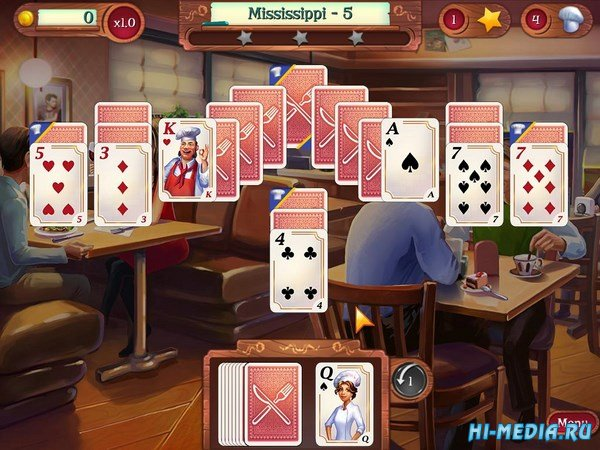 Chef Solitaire: USA (2015) ENG