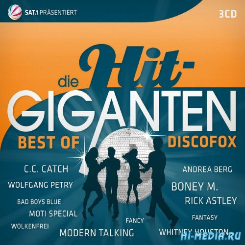 Die Hit Giganten - Best Of Discofox (2015)