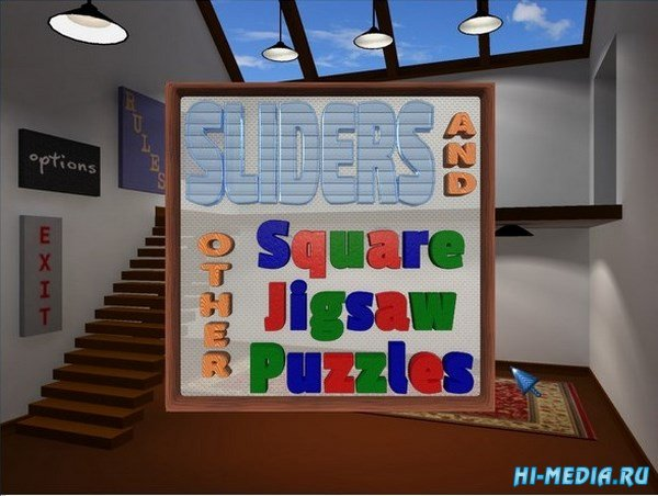 Sliders and Other Square Jigsaw Puzzles (2016) ENG