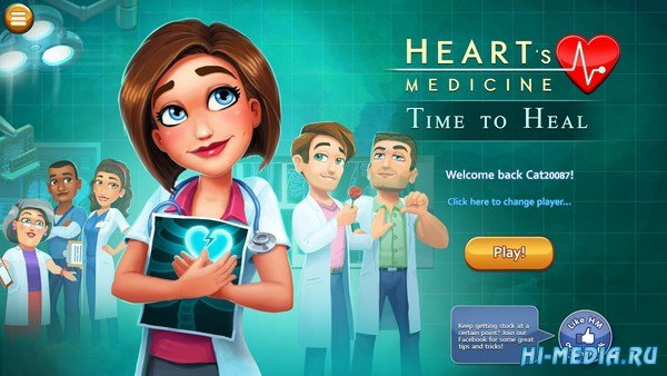 Hearts Medicine 2: Time To Heal Platinum Edition (2016) ENG