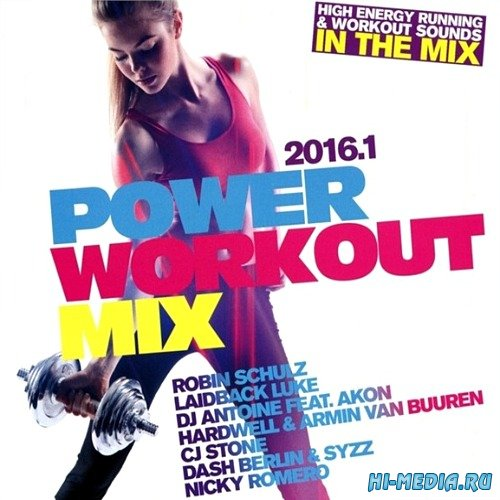 Power Workout Mix 2016.1 (2CD) (2015)