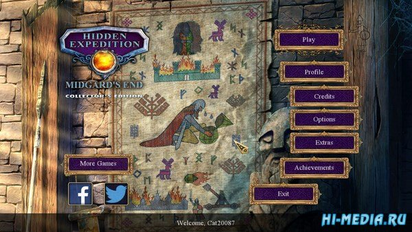 Hidden Expedition 11: Midgards End Collectors Edition (2016) ENG