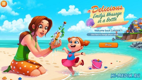 Delicious 13: Emilys Message in a Bottle Platinum Edition (2016) RUS