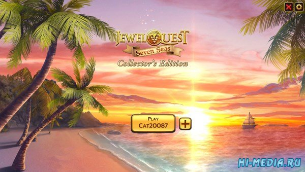 Jewel Quest 7: Seven Seas Collectors Edition (2016) ENG