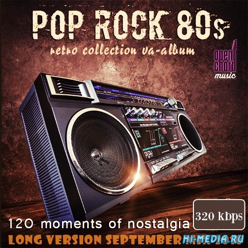 Pop Rock 80s: 120 Moments Of Nostalgia (2016)