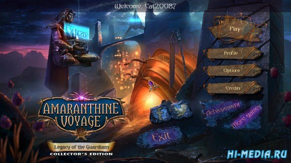 Amaranthine Voyage 7: Legacy of the Guardians Collectors Edition (2016) ENG