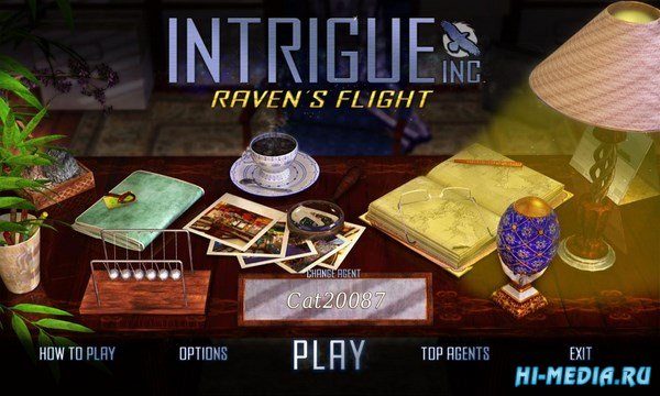Intrigue Inc: Raven's Flight (2011) ENG