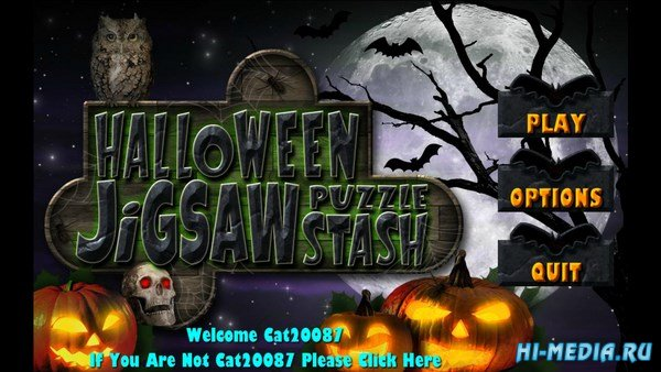Halloween Jigsaw Puzzle Stash (2016) ENG