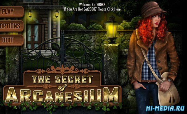 The Secret of Arcanesium (2016) ENG