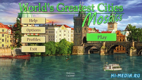 Worlds Greatest Cities Mosaics (2016) ENG