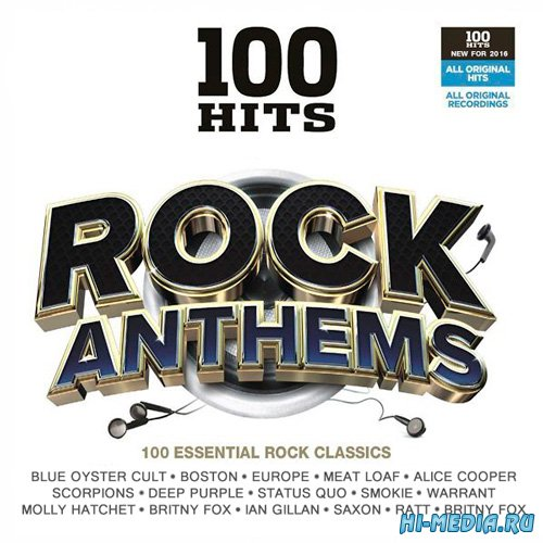 100 Hits Rock Anthems (2016)