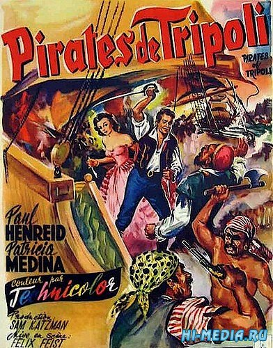 Пираты Триполи / Pirates of Tripoli (1955) DVDRip