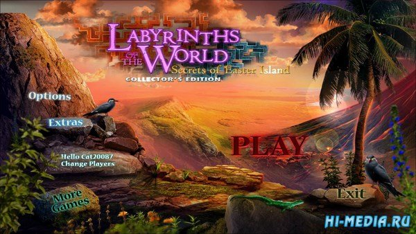 Labyrinths of the World 5: Secrets of Easter Island Collector's Edition (2017) ENG