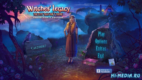 Witches Legacy 9: The City That Isnt There Collectors Edition (2017) ENG