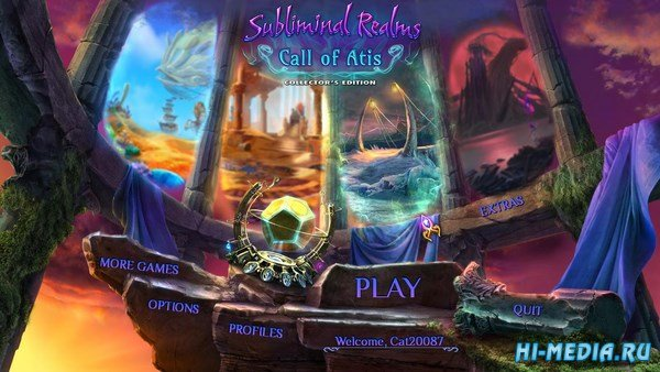 Subliminal Realms 2: Call of Atis Collectors Edition (2017) ENG