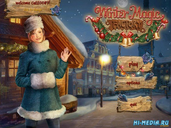 Winter Magic Factory (2017) ENG