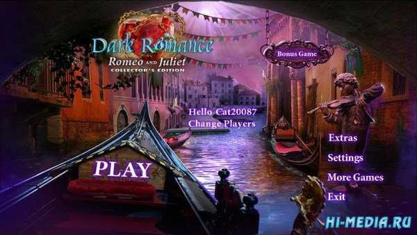 Dark Romance 6: Romeo and Juliet Collectors Edition (2017) ENG