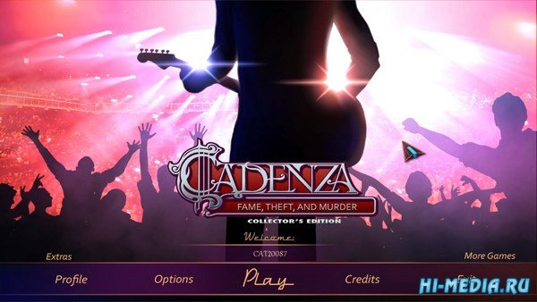 Cadenza 4: Fame, Theft, And Murder Collectors Edition (2017) ENG