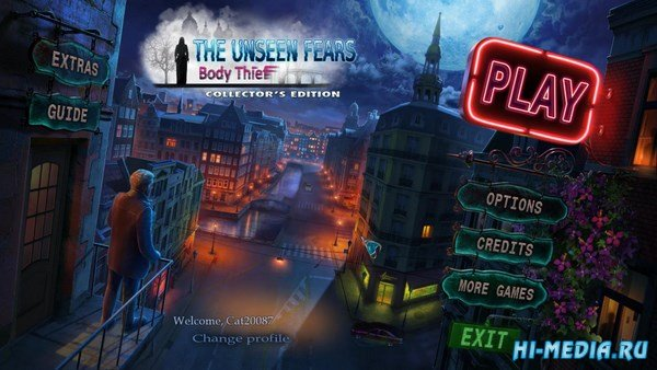 The Unseen Fears: Body Thief Collector's Edition (2017) ENG
