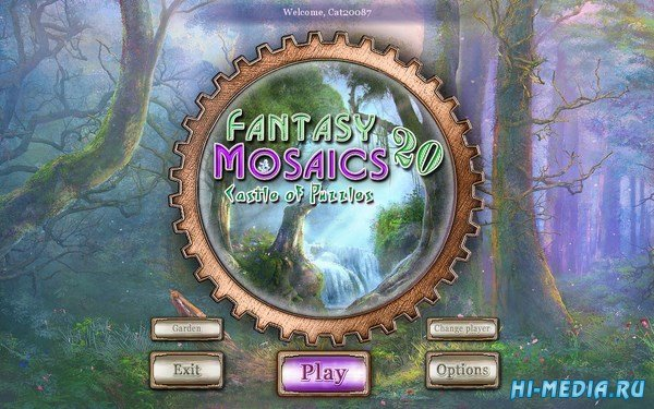 Fantasy Mosaics 20: Castle Of Puzzles (2017) ENG
