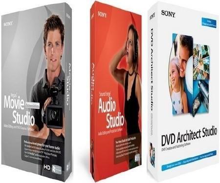 SONY Vegas Movie Studio HD Platinum Suite Rus (2012) Portable