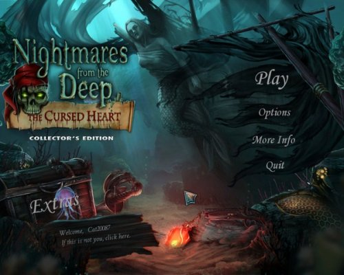 Nightmares from the Deep: The Cursed Heart Collectors Edition (2012) ENG