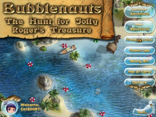Bubblenauts: The Hunt for Jolly Roger's Treasure (2012) ENG