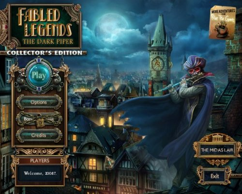 Fabled Legends: The Dark Piper Collectors Edition (2012) ENG