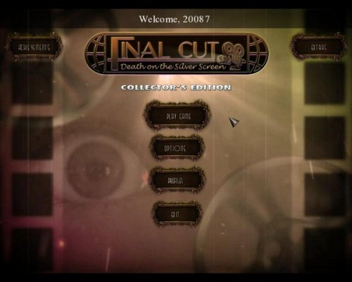 Final Cut: Death on the Silver Screen Collector's Edition (2012) ENG