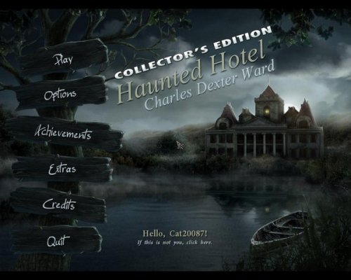 Haunted Hotel 4: Charles Dexter Ward Collector's Edition (2012) ENG