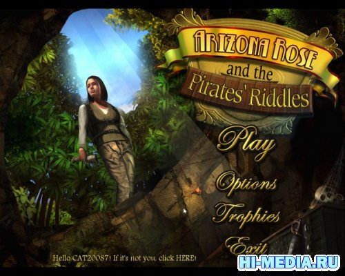 Arizona Rose and the Pirates Riddles (2012) ENG