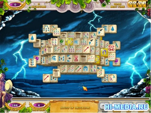 Mahjong Mysteries: Ancient Athena (2012) ENG