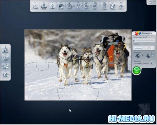 Пазлы 2.0 Животные (2011) RUS