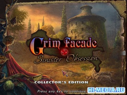 Grim Facade 2: Sinister Obsession Collectors Edition (2012) ENG