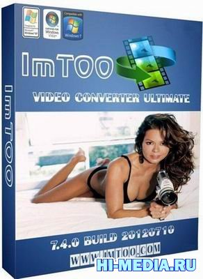 ImTOO Video Converter Ultimate 7.4.0 build 20120710 + KEY + RUS + Portable