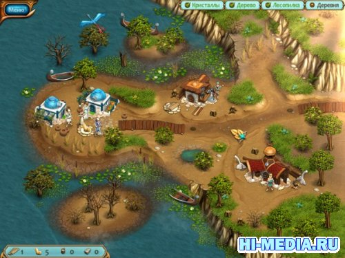 Legends of Atlantis: Исход (2012) RUS