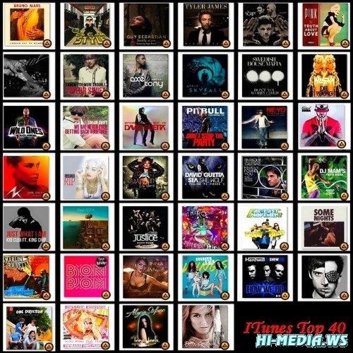 iTunes Top 40 (October 2012)