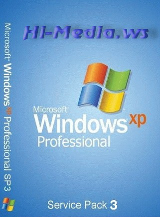 Образ оригинальной Windows XP Professional with Service Pack 3 (x86) - CD VL (Russian)