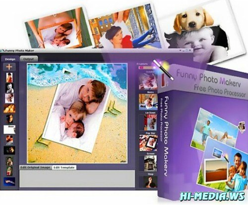 Funny Photo Maker 2.10 Portable