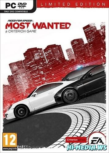 Need for Speed: Most Wanted. Limited Edition v.1.1.0.0 + 3 DLC (2012 / RUS / Repack)