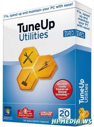 TuneUp Utilities 2013 13.0.2020.115 Final (Официальная русская версия) + Portable