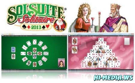 SolSuite Solitaire 2013 v13.1 + graphics pack 2013 (2012 / Rus / PC) Portable