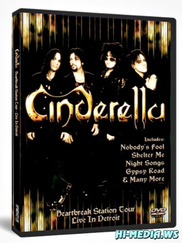 Cinderella - Heartbreak Station Tour - Live In Detroit '91 (2013) DVD5